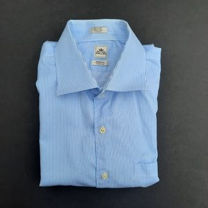 Peter Millar Nanoluxe Easy Care Extra Long Sleeve